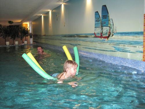 Schwimmbadbereich in der Villa del Mar
