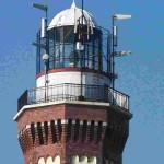 Leuchtturm-Niechorze-Leuchttechnik